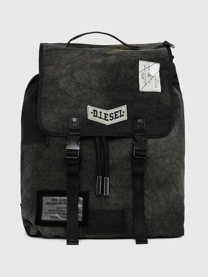 Diesel - VOLPAGO BACK, Black - Backpacks - Image 1