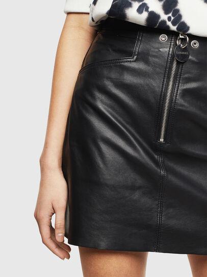 Diesel - L-ZACHERY, Black - Skirts - Image 3