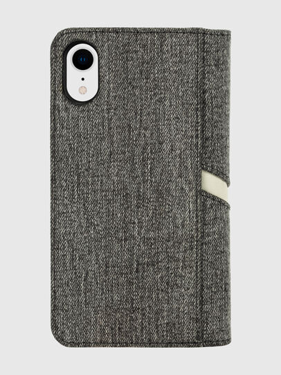 Diesel - DIESEL 2-IN-1 FOLIO CASE FOR IPHONE XR, Grey - Flip covers - Image 2
