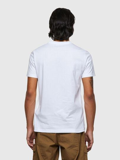 Diesel - T-DIEGOS-ECOSMALLOGO, White - T-Shirts - Image 2