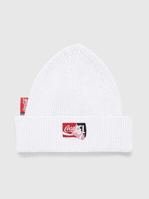 CC-BEANY-COLA, White - Knit caps