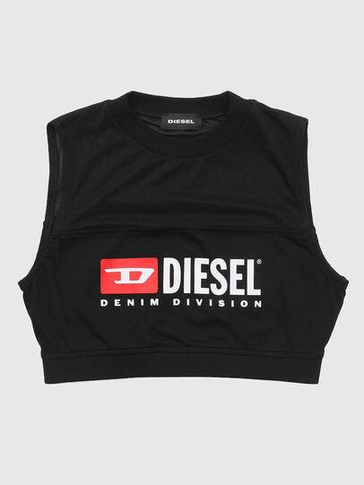 Diesel - TGIORGIT, Black - T-shirts and Tops - Image 1