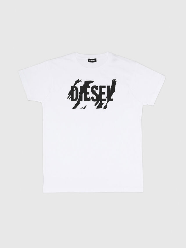 Diesel - TLUCAS MC, White - T-shirts and Tops - Image 1