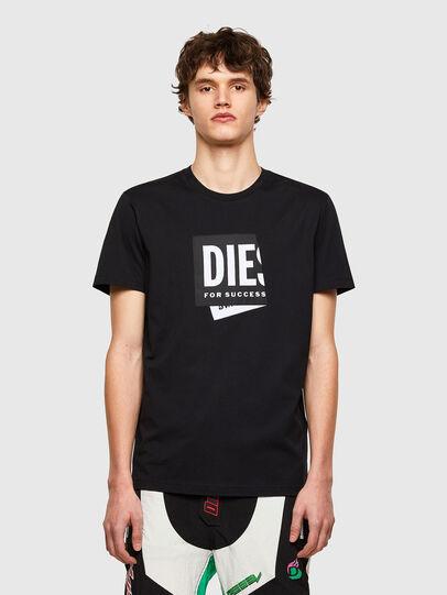 Diesel - T-DIEGOS-LAB, Black - T-Shirts - Image 1