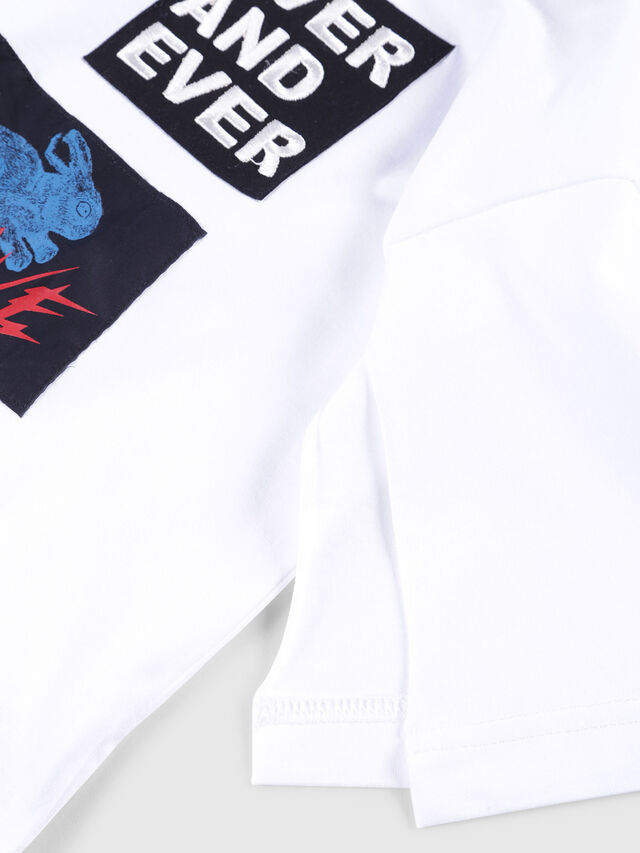 Diesel - TJACKY, White - T-shirts and Tops - Image 3
