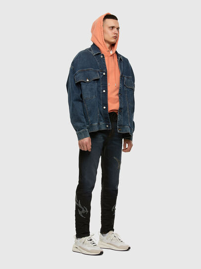 Diesel - D-VIDER JoggJeans® 009HE, Dark Blue - Jeans - Image 7