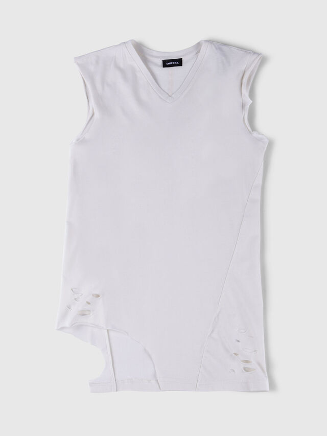 Diesel - TSHANE, White - T-shirts and Tops - Image 1