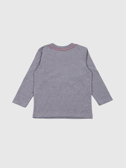 Diesel - TOQUEB-R, Grey - T-shirts and Tops - Image 2