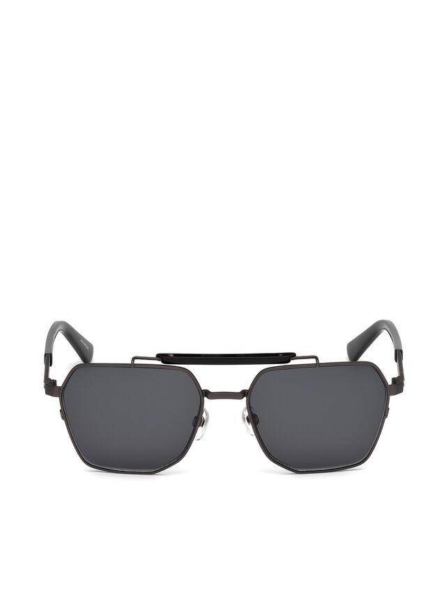 Diesel - DL0256, Black - Sunglasses - Image 1