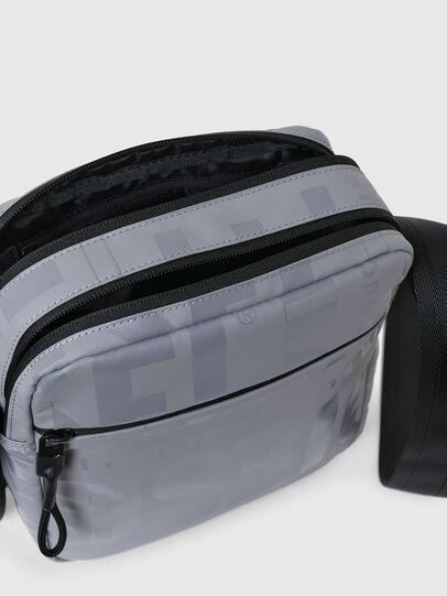 Diesel - X-BOLD DOUBLE CROSS, Grey - Crossbody Bags - Image 4
