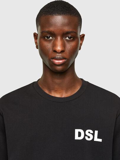 Diesel - T-JUST-E10, Black - T-Shirts - Image 3
