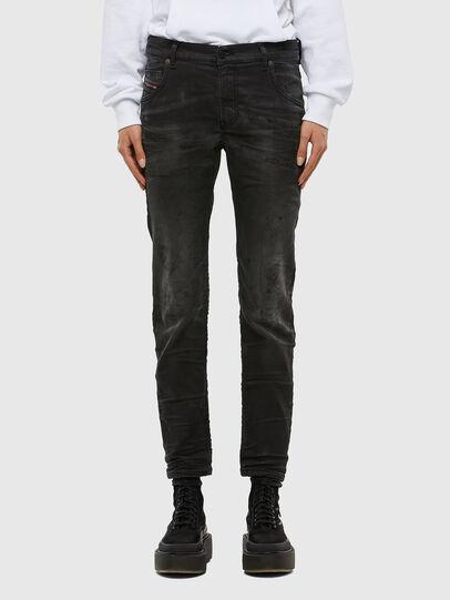 Diesel - Krailey JoggJeans 069QL, Black/Dark grey - Jeans - Image 1