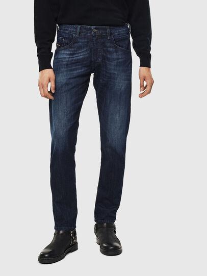Diesel - D-Bazer 0095W, Dark Blue - Jeans - Image 1