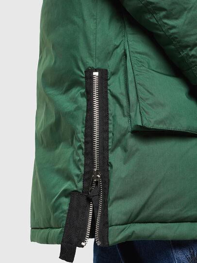Diesel - W-BULLISK, Dark Green - Winter Jackets - Image 4
