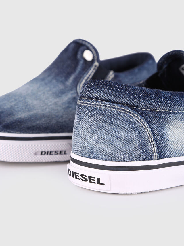 KIDS SLIP ON 21 DENIM YO, Blue Jeans - Footwear - Image 5