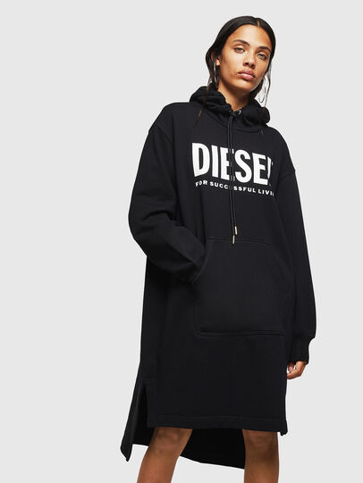 Diesel - D-ILSE-T, Black - Dresses - Image 1