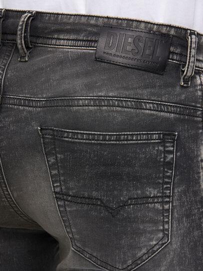 Diesel - Thommer JoggJeans® 009KC, Black/Dark grey - Jeans - Image 4