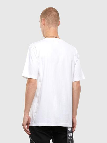 Diesel - T-TUBOLAR-N4, White - T-Shirts - Image 2
