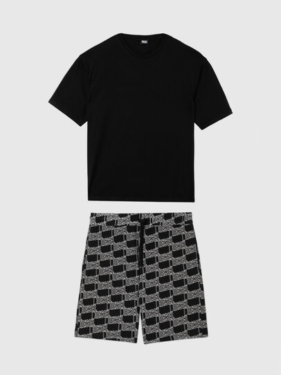 Diesel - UMSET-TIMBALNEW-BOXI, Black - Pajamas - Image 1