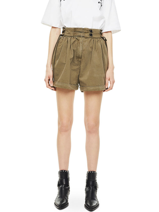 Diesel - SIMONY, Military Green - Shorts - Image 1