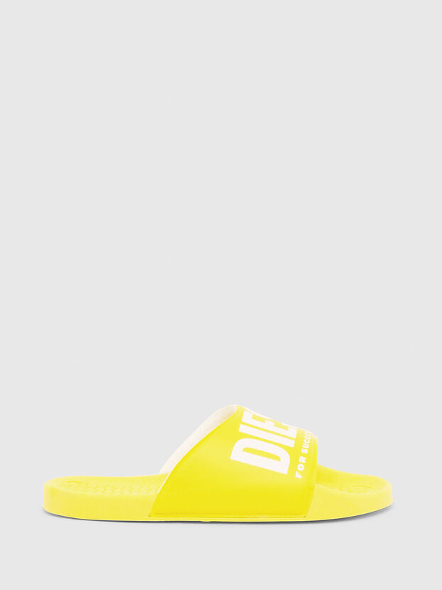 FF 01 SLIPPER CH, Yellow - Footwear