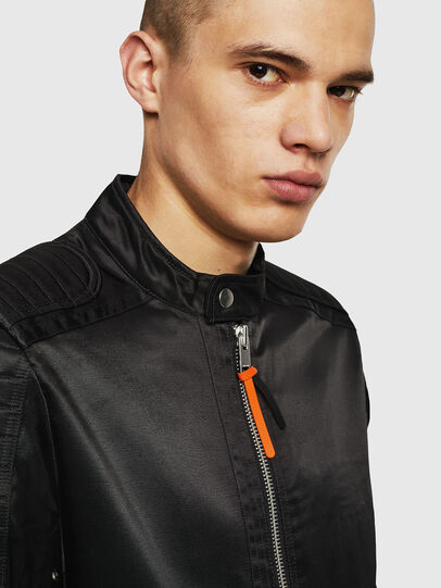 Diesel - J-SHIRO, Black - Jackets - Image 3