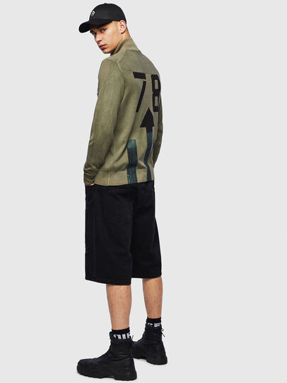 Diesel - K-FRECCY, Military Green - Knitwear - Image 4