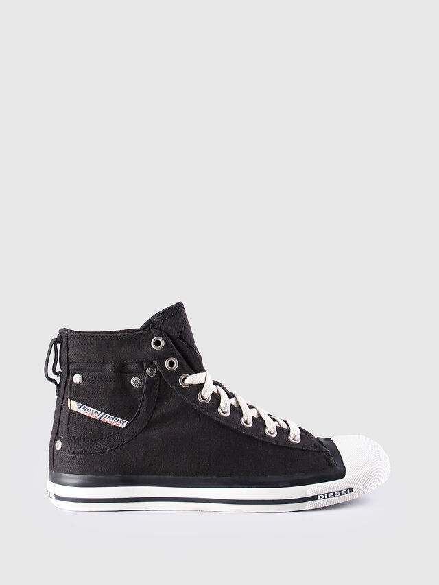 Diesel - EXPOSURE W, Black/White - Sneakers - Image 1