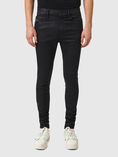 Diesel - D-Istort 069YD, Black/Dark grey - Jeans - Image 1