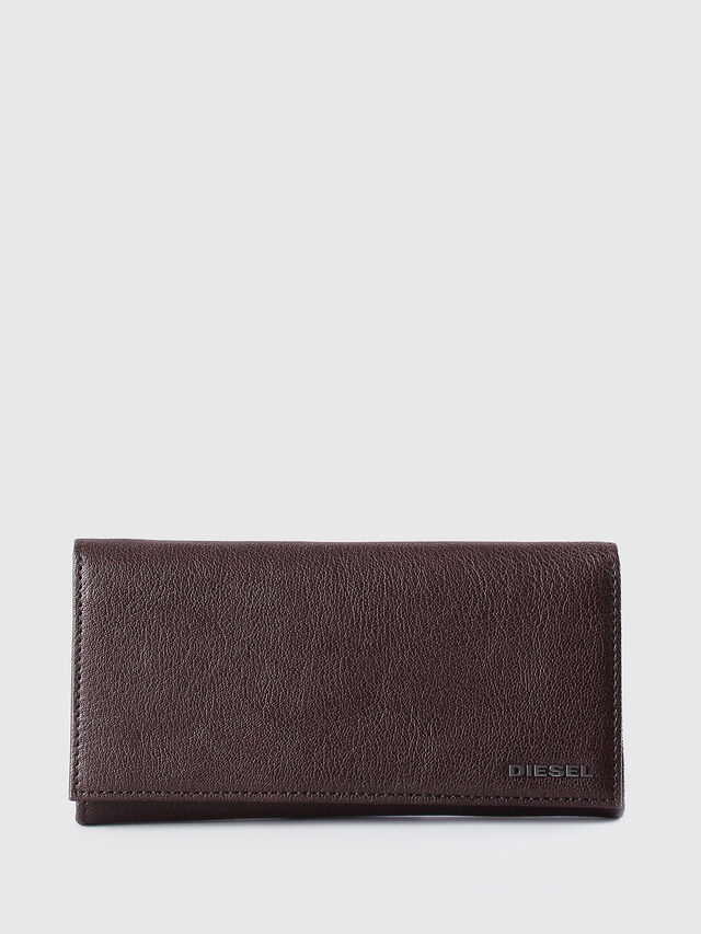 Diesel 24 A DAY, Brown - Continental Wallets - Image 1