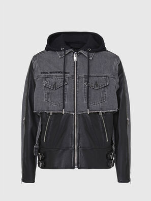 L-IVAN, Black - Leather jackets