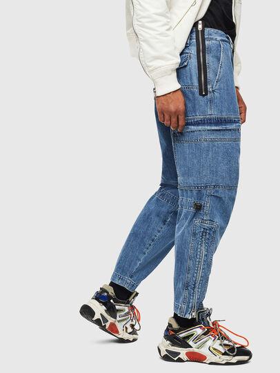 Diesel - D-Luks 009CL, Light Blue - Jeans - Image 4