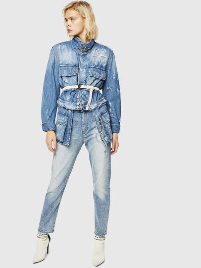 Diesel - D-Eiselle 084AA, Light Blue - Jeans - Image 6