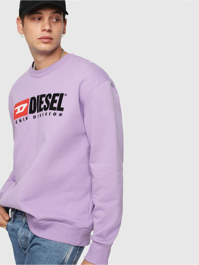 Diesel - S-CREW-DIVISION, Lilac - Sweaters - Image 3