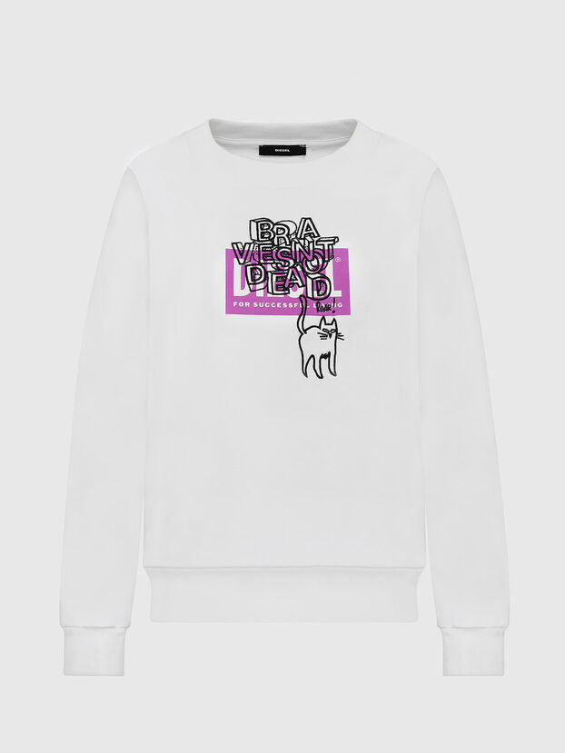 F-MAGDA-E40, White - Sweaters