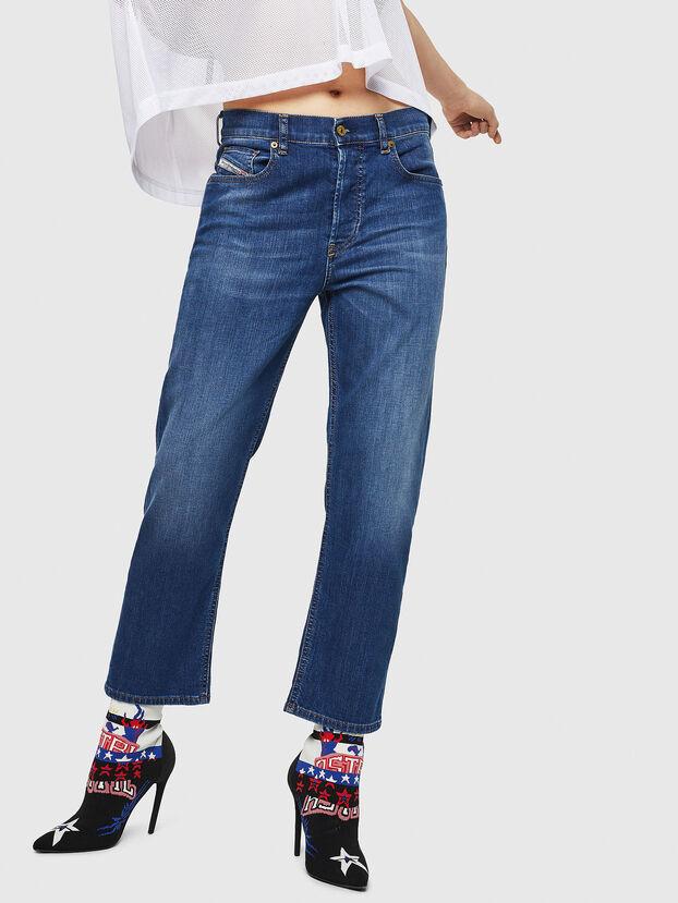 Aryel 082AZ, Dark Blue - Jeans