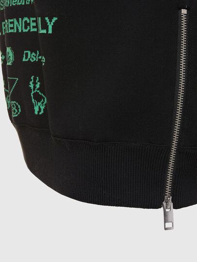 Diesel - K-ERROL, Black - Knitwear - Image 4