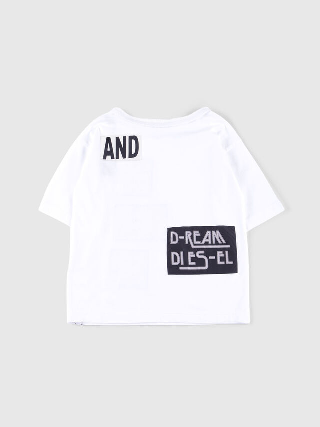 Diesel - TJACKY, White - T-shirts and Tops - Image 2