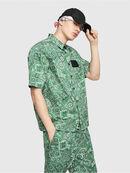S-FRY-NP, Green - Shirts