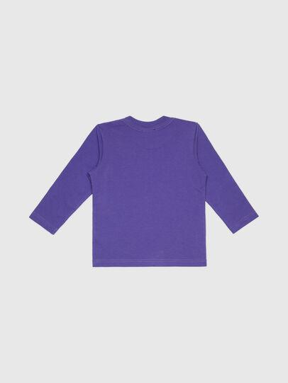 Diesel - TJUSTLOGOB-FL ML-R, Violet - T-shirts and Tops - Image 2