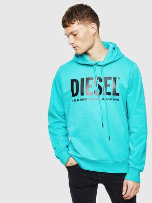 S-GIR-HOOD-DIVISION-, Azure - Sweaters