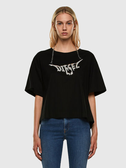 Diesel - T-BOWLY, Black - T-Shirts - Image 5