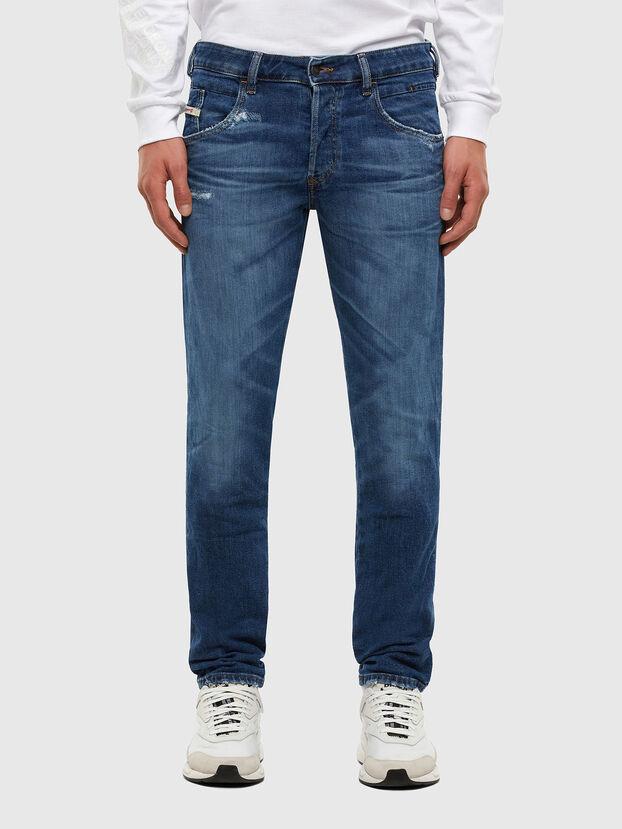 D-Bazer 009DE, Dark Blue - Jeans