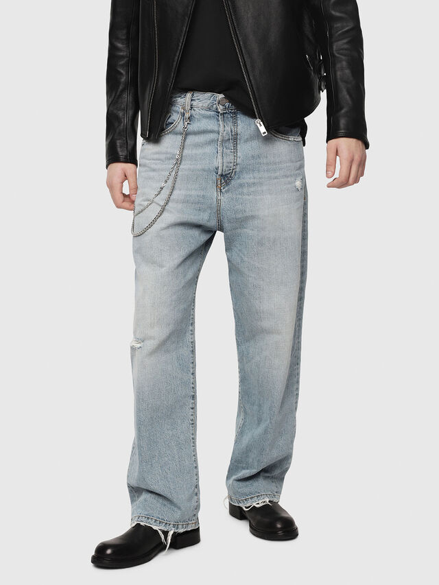 Diesel - D-Vided 080AF, Light Blue - Jeans - Image 1