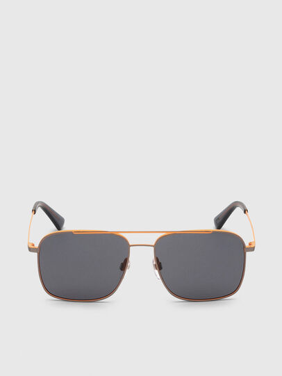 Diesel - DL0295, Orange/Black - Sunglasses - Image 1