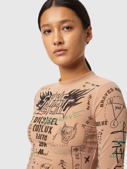 Diesel - T-SIELAY, Face Powder - T-Shirts - Image 3