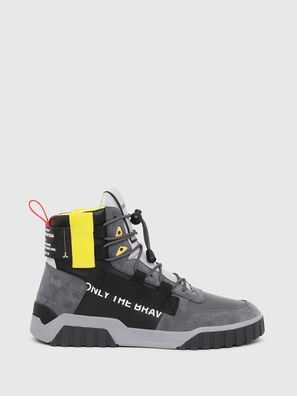 S-RUA MID SP, Gray/Black - Sneakers