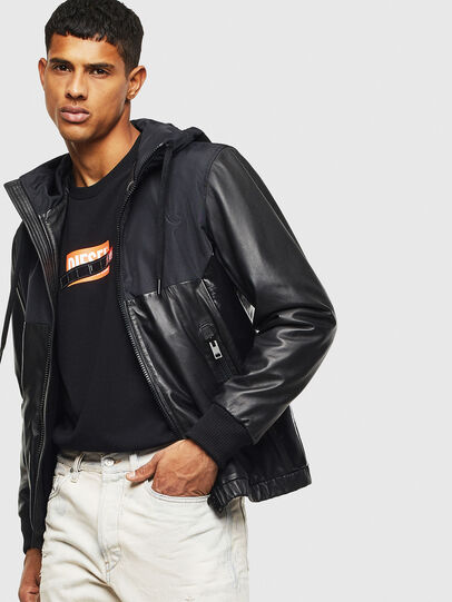 Diesel - L-CARRS,  - Leather jackets - Image 4