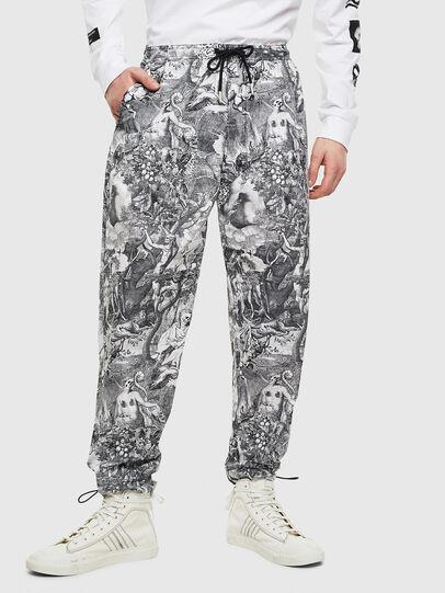 Diesel - P-TOLL-KAOS, Black/White - Pants - Image 1