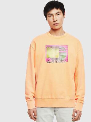 S-BIAY-FLUO, Orange - Sweaters